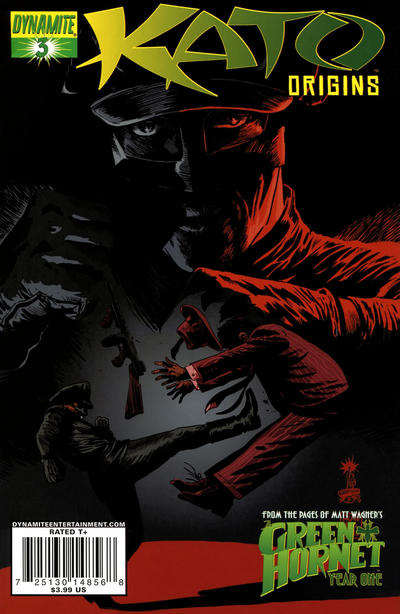Cover for Kato Origins (Dynamite Entertainment, 2010 series) #3 [Francesco Francavilla Cover]