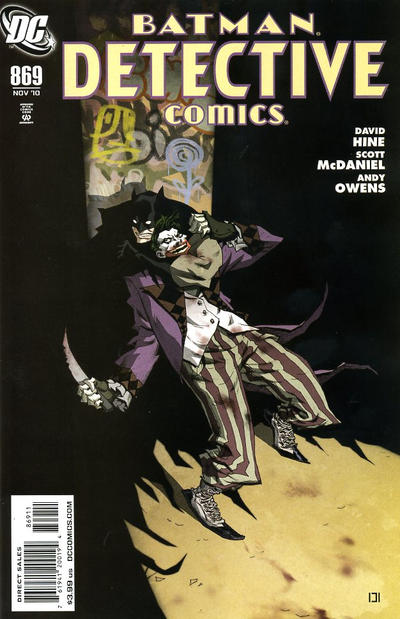 Cover for Detective Comics (DC, 1937 series) #869