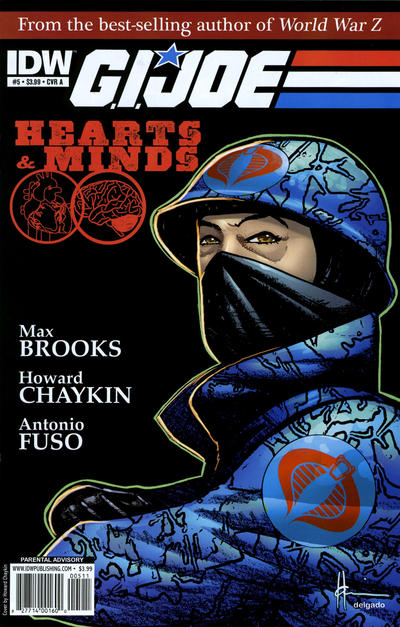 Cover for G.I. Joe: Hearts & Minds (2010 series) #5 [Cover B]