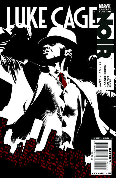 Cover for Luke Cage Noir (Marvel, 2009 series) #4 [Dennis Calero Variant]