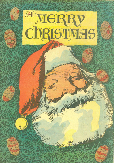 Cover for A Merry Christmas (Dell, 1948 series) #[nn]