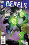Cover for R.E.B.E.L.S. (DC, 2009 series) #21