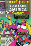 Cover for Captain America (Marvel, 1968 series) #357 [Newsstand Edition]