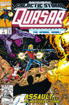 Cover Thumbnail for Quasar (1989 series) #32 (1) [Newsstand Edition]