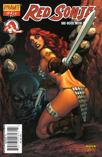 Cover Thumbnail for Red Sonja (Dynamite Entertainment, 2005 series) #28 [Mel Rubi Cover]