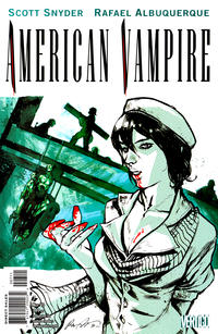 Cover for American Vampire (2010 series) #7