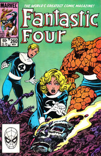 Cover Thumbnail for Fantastic Four (Marvel, 1961 series) #260 [Direct Edition]