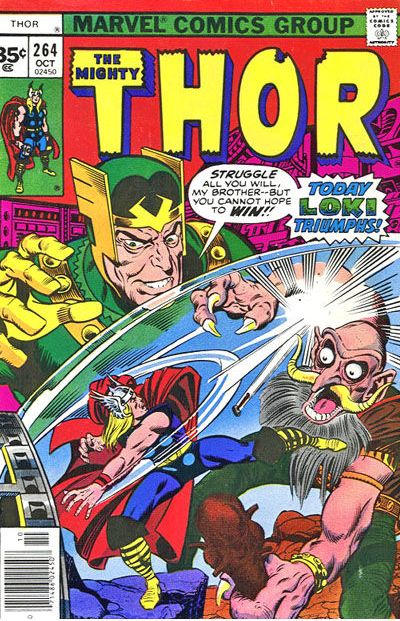 Cover for Thor (Marvel, 1966 series) #264 [35¢ Price Variant]