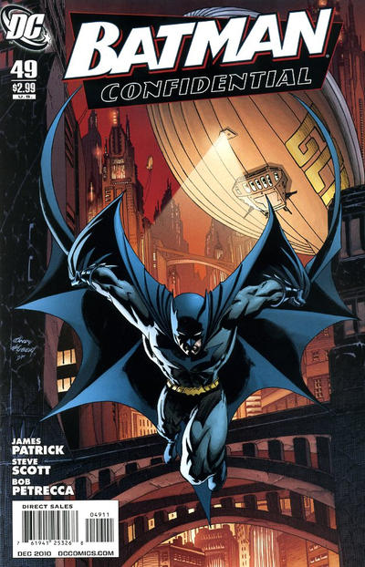 Cover for Batman Confidential (DC, 2007 series) #49