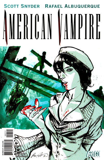 Cover for American Vampire (DC, 2010 series) #7