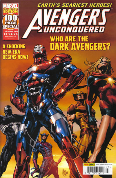 Cover for Avengers Unconquered (Panini UK, 2009 series) #23