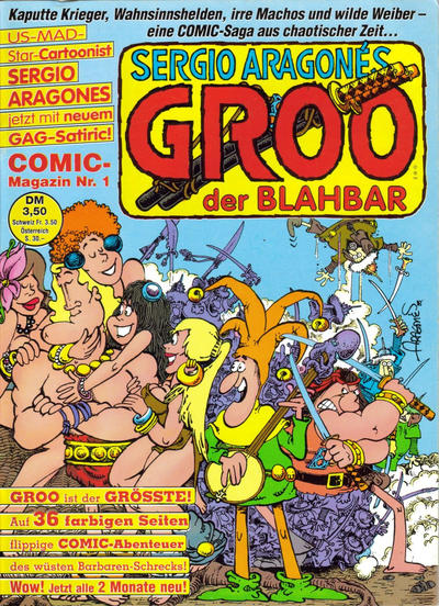 Cover for Groo der Blahbar (1990 series) #1
