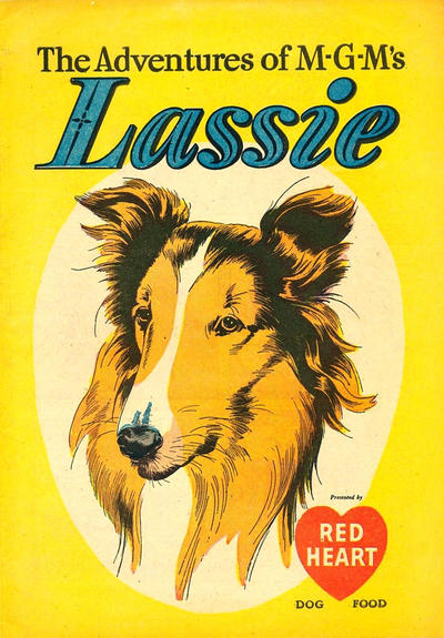 Cover for The Adventures of M. G. M.'s Lassie (Dell, 1949 series) #[nn]