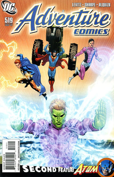 Cover for Adventure Comics (DC, 2009 series) #519