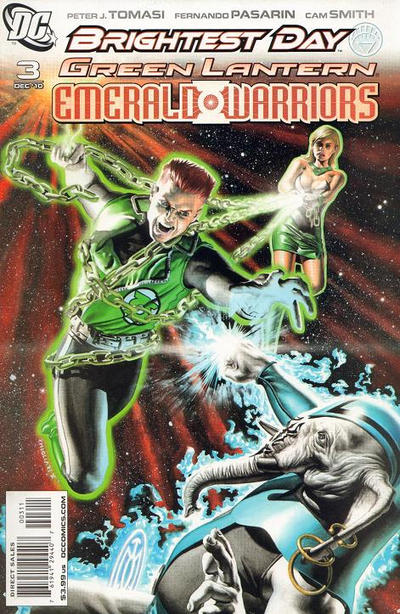 Cover for Green Lantern: Emerald Warriors (DC, 2010 series) #3 [Felipe Massafera Variant Cover]