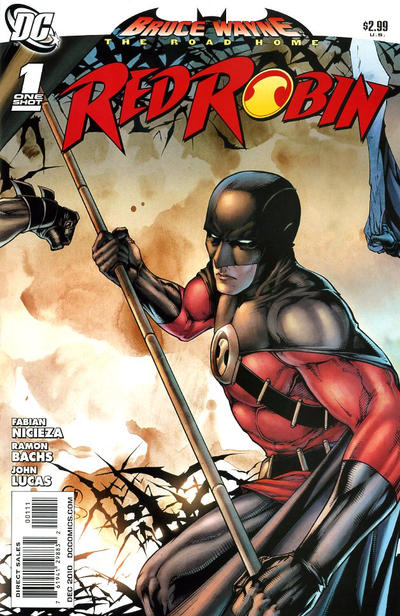 Cover for Bruce Wayne: The Road Home: Red Robin (DC, 2010 series) #1