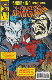 Cover Thumbnail for The Amazing Spider-Man (Marvel, 1963 series) #390 [Direct Edition]