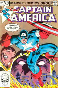 Cover Thumbnail for Captain America (Marvel, 1968 series) #278 [Direct Edition]