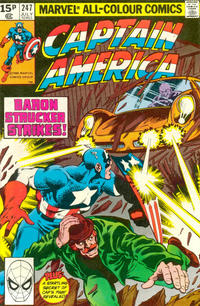 Cover Thumbnail for Captain America (Marvel, 1968 series) #247 [British]