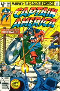Cover Thumbnail for Captain America (Marvel, 1968 series) #237 [British]