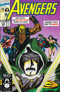 Cover Thumbnail for The Avengers (Marvel, 1963 series) #333 [Direct Edition]