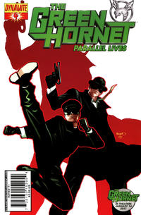 Cover Thumbnail for Green Hornet: Parallel Lives (Dynamite Entertainment, 2010 series) #4