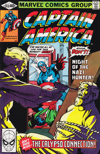 Cover for Captain America (Marvel, 1968 series) #245 [Direct Edition]