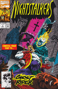 Cover Thumbnail for Nightstalkers (Marvel, 1992 series) #7 [Direct Edition]