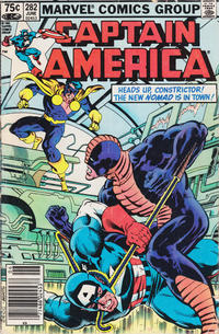 Cover Thumbnail for Captain America (Marvel, 1968 series) #282 [Canadian Newsstand Edition]
