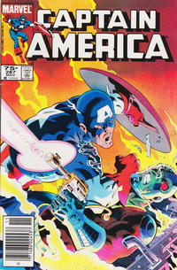 Cover Thumbnail for Captain America (Marvel, 1968 series) #287 [Canadian Newsstand Edition]