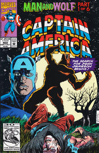 Cover Thumbnail for Captain America (Marvel, 1968 series) #402 [Direct Edition]
