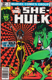 Cover Thumbnail for The Savage She-Hulk (Marvel, 1980 series) #15