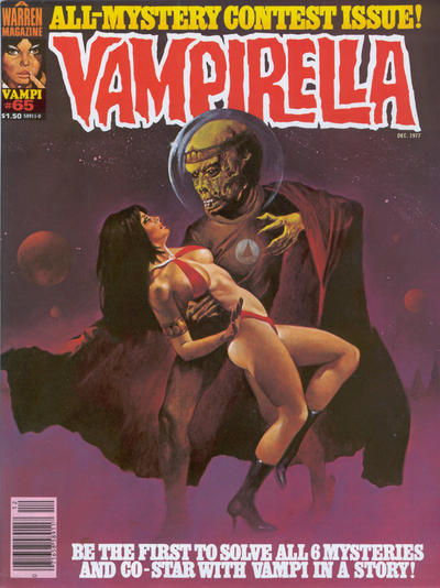 Cover for Vampirella (Warren, 1969 series) #65