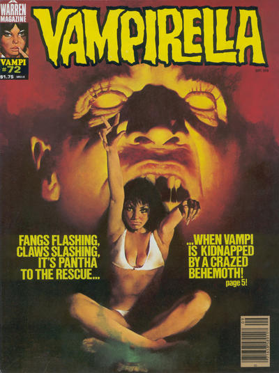 Cover for Vampirella (Warren, 1969 series) #72