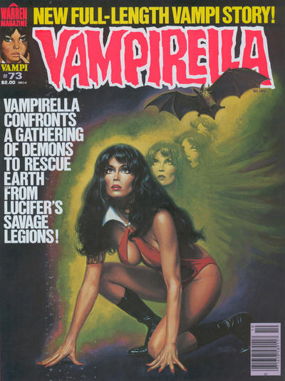 Cover for Vampirella (Warren, 1969 series) #73