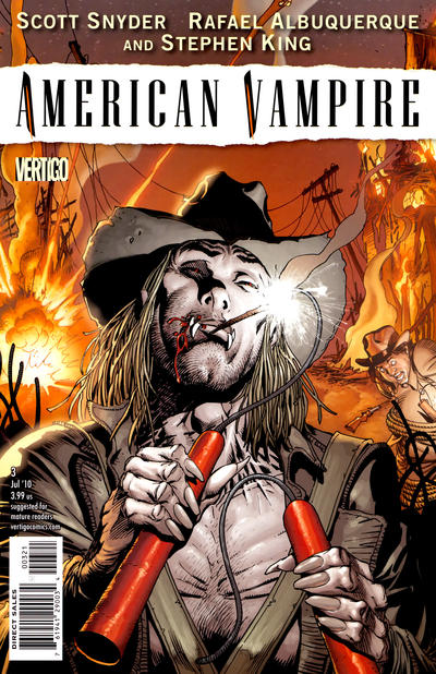 Cover for American Vampire (2010 series) #3 [Direct]