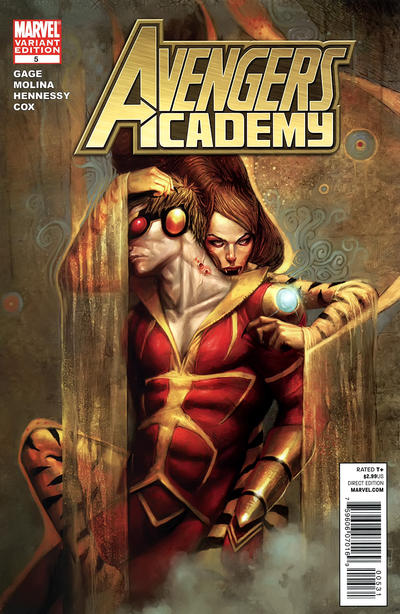 Cover for Avengers Academy (Marvel, 2010 series) #5 [McKone Variant Edition Cover]