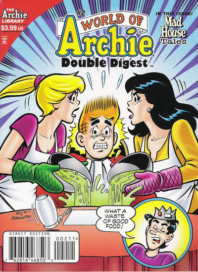 Cover for World of Archie Double Digest (Archie, 2010 series) #2 [Direct]