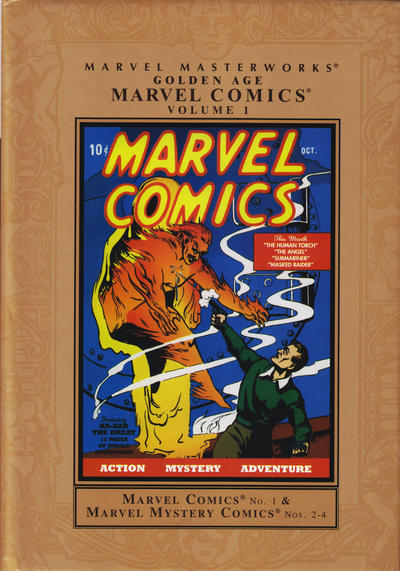Cover for Marvel Masterworks: Golden Age Marvel Comics (2004 series) #1 [Regular Edition]