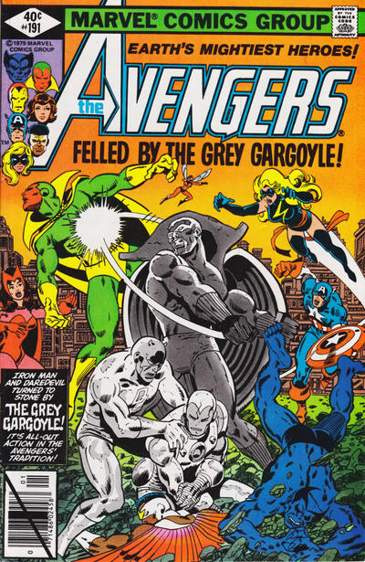 Cover for The Avengers (1963 series) #191 [Direct Edition]