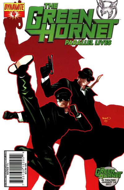 Cover for Green Hornet: Parallel Lives (Dynamite Entertainment, 2010 series) #4