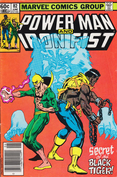 Cover for Power Man and Iron Fist (1981 series) #82 [newsstand]