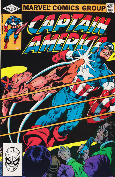 Cover for Captain America (1968 series) #271 [direct edition]