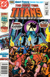 Cover for The New Teen Titans (DC, 1980 series) #21 [Newsstand]