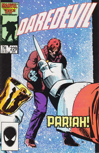 Cover Thumbnail for Daredevil (Marvel, 1964 series) #229 [Direct]
