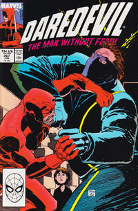 Cover Thumbnail for Daredevil (Marvel, 1964 series) #267 [Direct Edition]