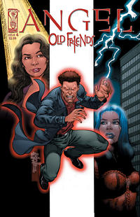 Cover for Angel: Old Friends (2005 series) #4 [Tone Rodriguez 2]