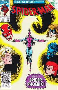 Cover Thumbnail for Spider-Man (Marvel, 1990 series) #25 [direct]