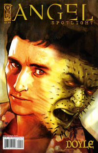 Cover for Angel: Doyle (2006 series) #[nn] [Retailer Incentive Photo Cover]