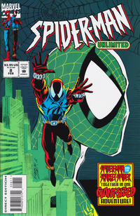 Cover for Spider-Man Unlimited (Marvel, 1993 series) #8 [Direct Edition]